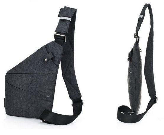 Anti Theft Crossbody Bag, Mens Sling Bag