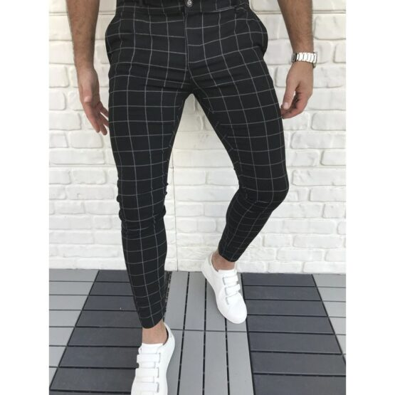 straight leg joggers for men