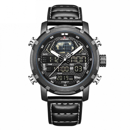Naviforce Mens Analogue Digital Watch