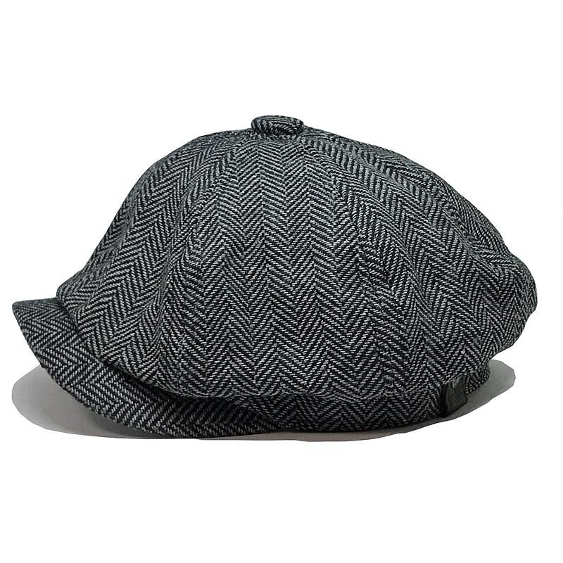 Fashion Gentleman Octagonal Cap Newsboy Beret Hat Autumn