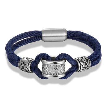 Clic Navy Style Rope Infinity Men S