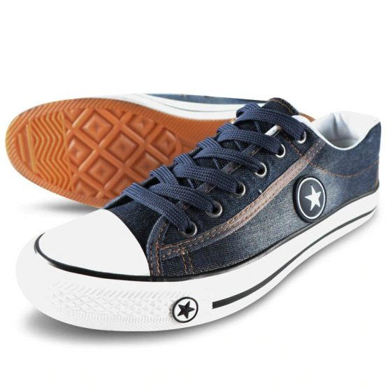 mens denim sneakers