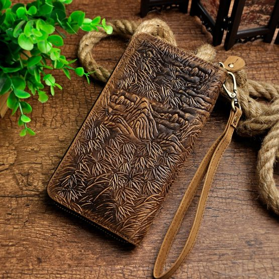 Genuine leather Tiger Wallet
