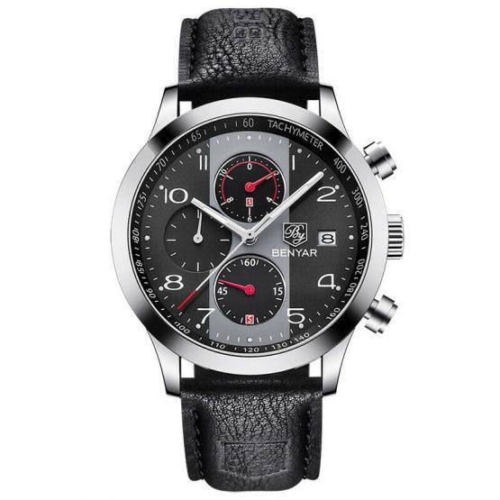 BENYAR Chronograph Watch Men Calendar Watch