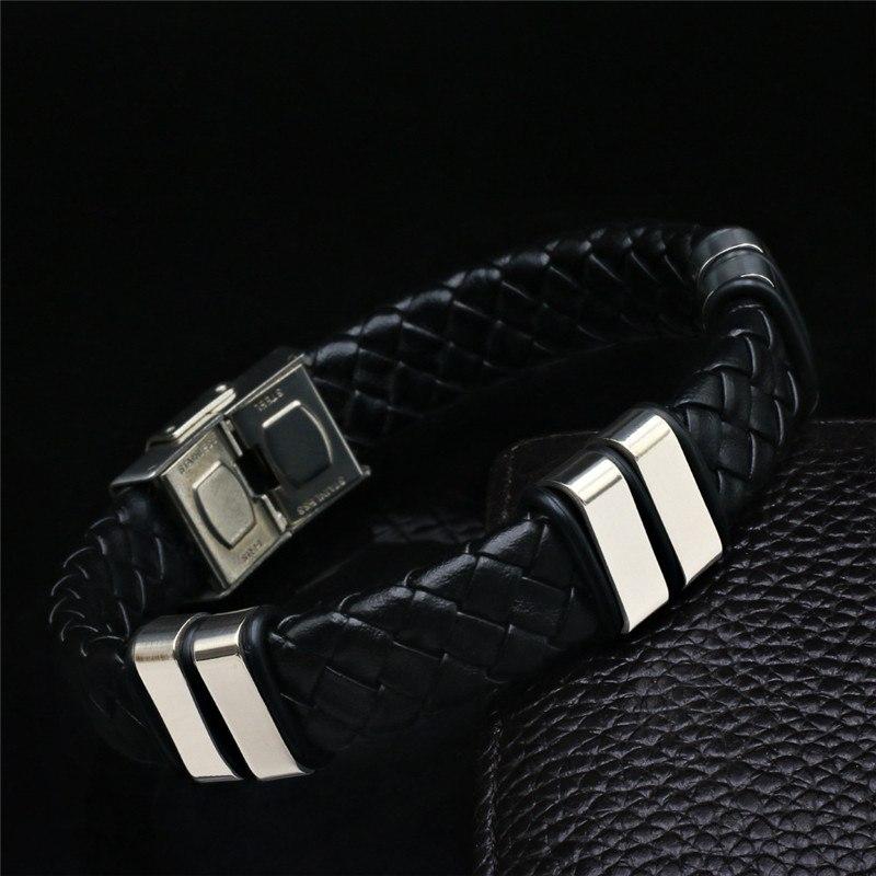 info pour e1839 b9593 Bracelets-Homme-2018-New-Fashion-Fine-Jewelry-Tide-Weave ...
