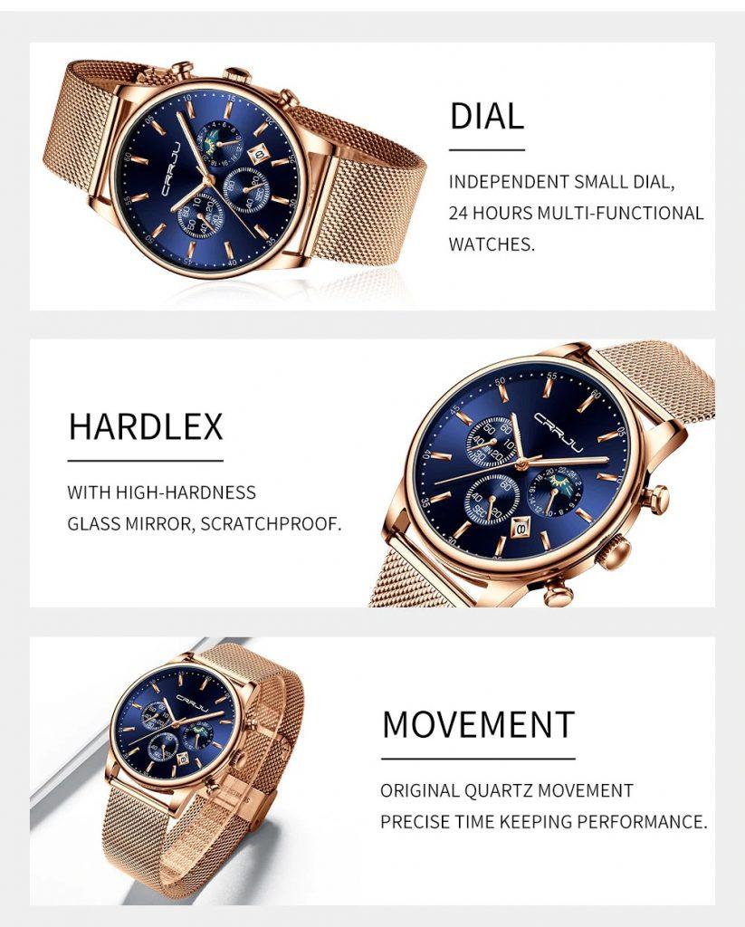 CRRJU Luxury Quartz Watch-1