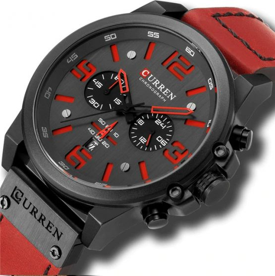 Curren Men's Waterproof Sport Watch-21,mens waterproof sports watch,waterproof sports watch for mens