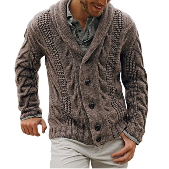 Armando Men's Shawl Neck Cardigan, Sweaters Outwear