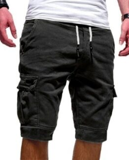 Men's Knee Length Cargo Shorts