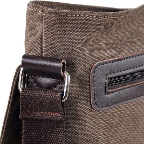 Men's Canvas Crossbody bag