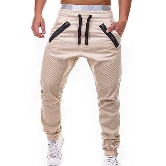 Mens Cashmere Tapered Fit Joggers