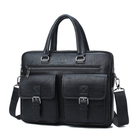 Leather Laptop Messenger Bags For Men