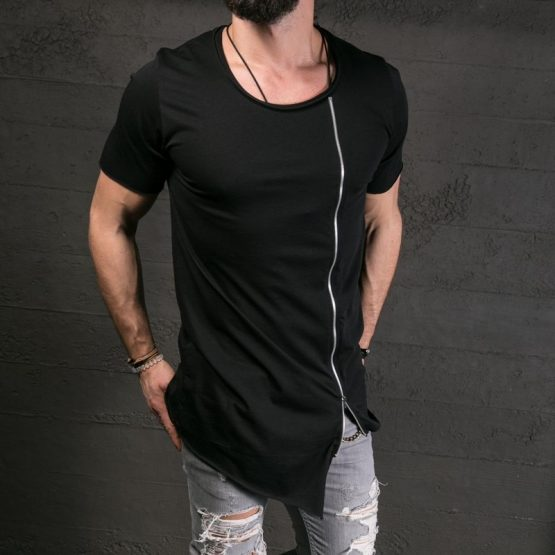 Kingsei Asymmetrical Shirt Mens - capthatt.com