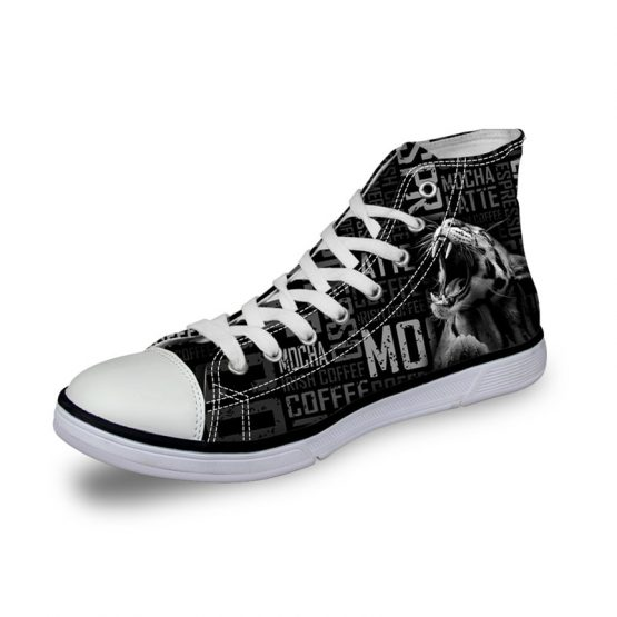 Wyld - Mens High Top Canvas Shoes