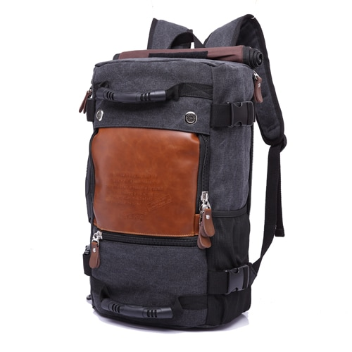 Large Capacity Travel Backpack, Men's Multi Functional Shoulder Bag - capthatt.com