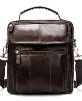 WESTAL Men's Genuine Leather Bag