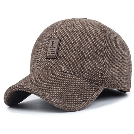 MRACSIY Mens Baseball Cap - With Hidden Flaps