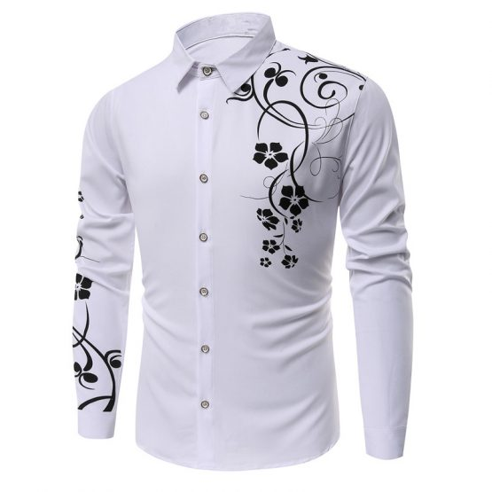 PIZZ ANNU Men's Shirts Button Down Long Sleeve Shirts - capthatt.com