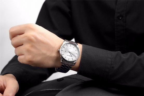 Ultra Flat Wrist Watch