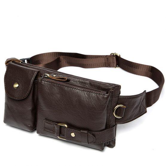 Genuine Leather Waist Bag