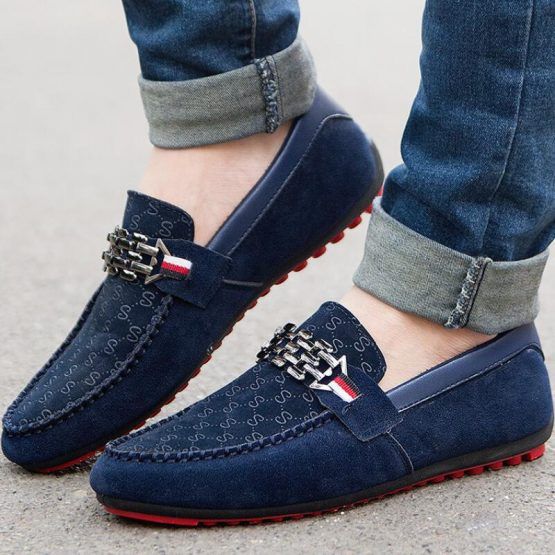 Mens Slip On Loafers, Breathable Moccasins