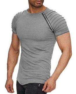 Kingsei Cotton Slim Fit T Shirt