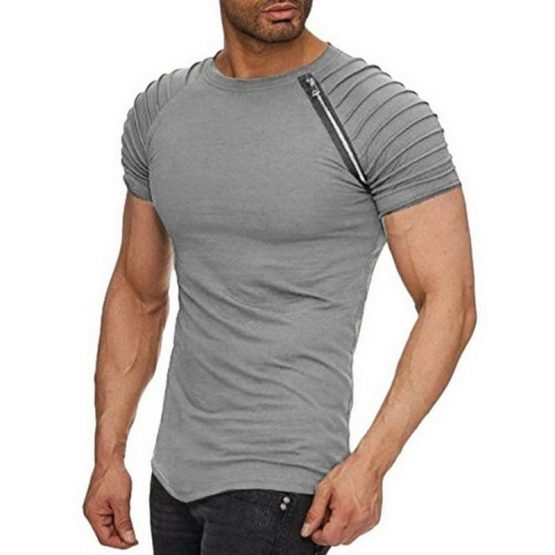 Kingsei Cotton Slim Fit T Shirt