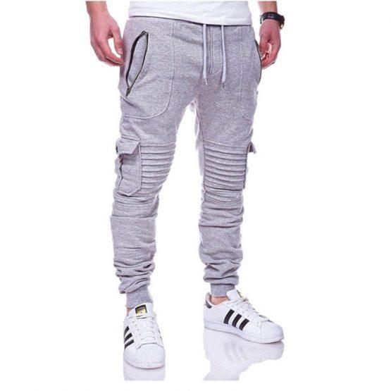 Men's jogging pants - Multi-pocket trousers