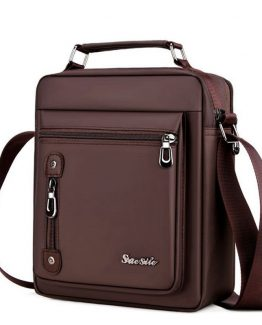 Men's Retro Shoulder Bag