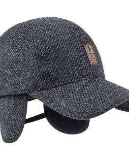 MRACSIY Mens Baseball Cap - With Hidden Flaps