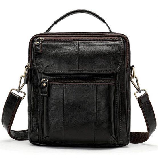 WESTAL Men's Genuine Leather Bag