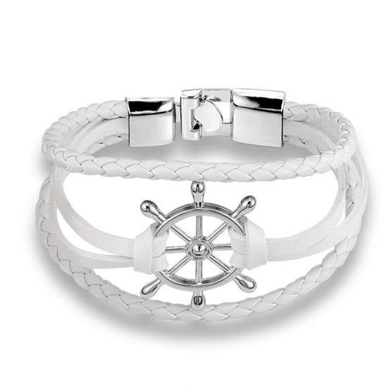 Ahoy Nautical Rudder Bracelet For Men