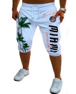 Mens jogger shorts, 3/4 Length Shorts