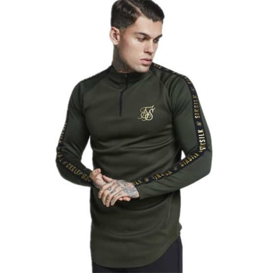 Men's Longsleeved Curved Hem T-Shirt