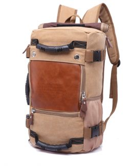 4 in 1 Canvas Laptop Backpack, B07CWR1N9X