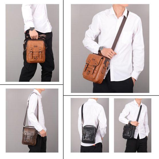 JEEP BULUO Man's Crossbody Shoulder Bag