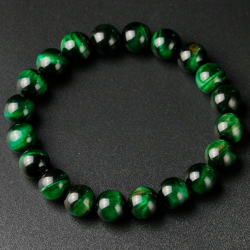 natural green tigers eye