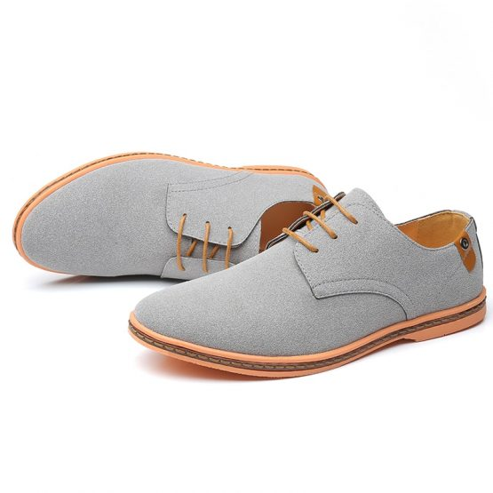 Suede Classic Oxford Shoes For Men