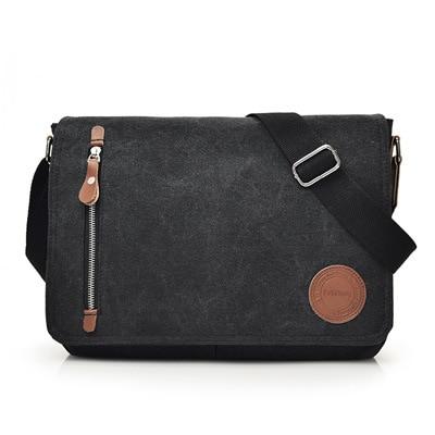 Canvas Satchel Messenger Bag for Traveling