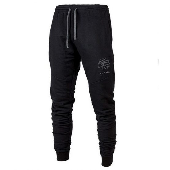 Alpha Mens Slim Fit Joggers
