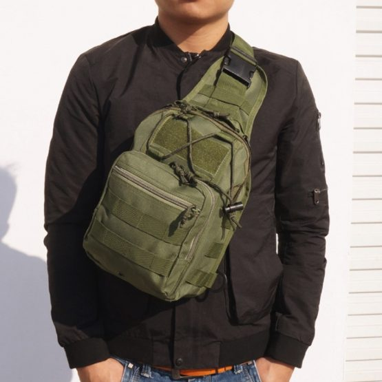 Camo Backpack Shoulder Bag