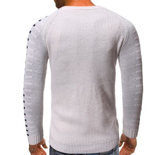 Vox Men's Pullover Sweater | Ribbed Long Sleeve Top