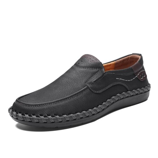 Armas Mens Breathable Slip On Loafers