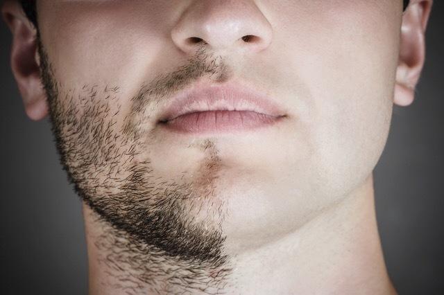 letting your beard grow