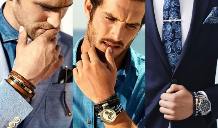 How To Wear Jewelry And Still Be Masculine. Best Styling Tips For Men.