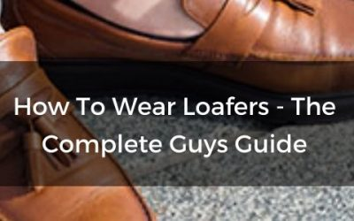 how to wear loafers men