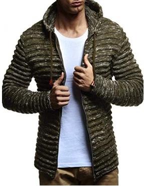 LEIF NELSON Men's Sweater Hoodie