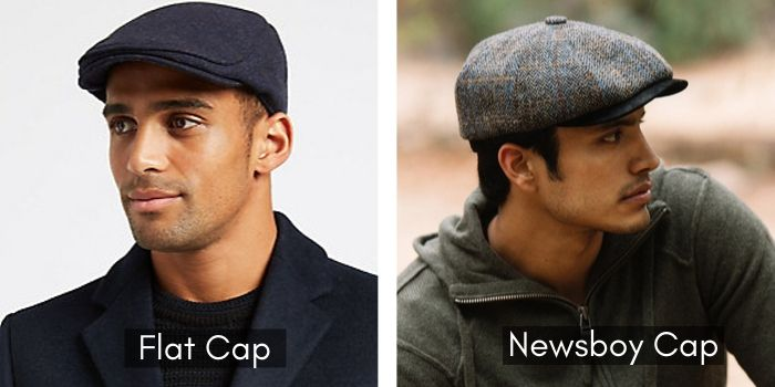 Newsboy Cap vs Flat Cap