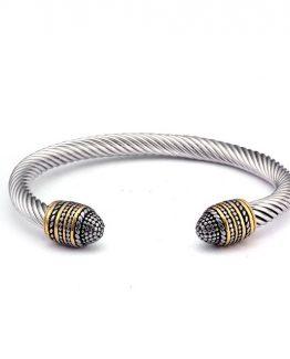 Vintage Stainless Steel Bracelet
