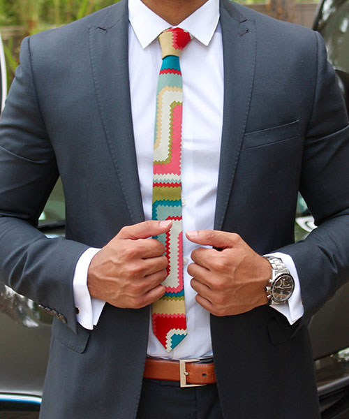 What is the best material for a tie